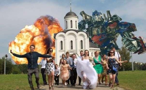Se le foto del matrimonio sono orrende?